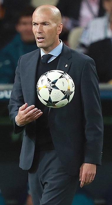Зидан в качестве тренера мадридского «Реала» dc3b1c939b7d1