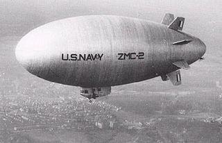 ZMC-2 Metal skinned airship