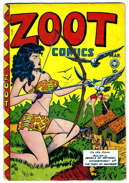 Zoot Comics No 14 Fox Features Syndicate, 1948