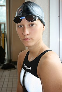 Zuzanna Mazurek Polish swimmer