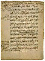 Le fameux exemplaire de l'édition de 1588 – connu sous le nom d'Exemplaire de Bordeaux – sur lequel l'auteur a accumulé corrections et additions jusqu'à sa mort en 1592, longtemps considéré comme la dernière volonté littéraire de Montaigne.