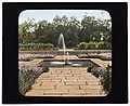 """Bartow Mansion,"" International Garden Club, 895 Shore Bay Road, Pelham Bay Park, Bronx, New York. Terrace fountain LCCN2008675738.jpg"