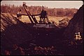 """""""The Tiger"""" Coal Shovel, Owned by the Hanna Coal Company Working in Its Self-Made Valley Off Route 800, near Barnesville, Ohio and Steubenville. 10-1973 (3769084503).jpg"""