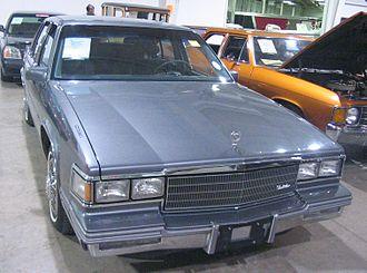 Cadillac Fleetwood - 1986 Cadillac Fleetwood