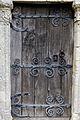 'Berfrestone' (DB) door St Nicholas Church Barfrestone Kent England.jpg