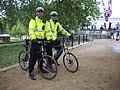'London Policemen' on duty at 'St James Park' in London..jpg