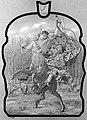 'November Astride the Centaur' drawing for stained glass at Betteshanger House, Kent, Thomas Erat Harrison.jpg