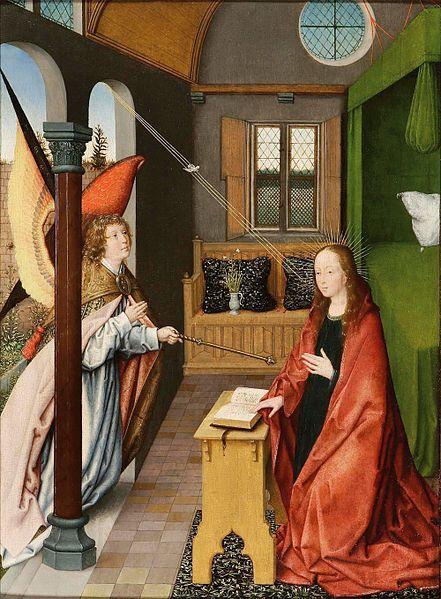 File:'The Annunciation' by Jan Provost, Dickinson Gallery.jpg