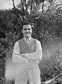 (Portrait of a man standing in front of trees) (AM 76770-1).jpg