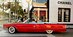 ( 1966 ) RED CADILLAC deVille ~ for sale.jpg