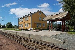 Åsen Station - Image: Åsen stasjon 2
