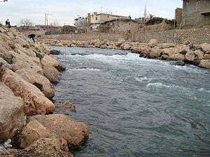 Jaghjagh River - Jaghjagh River at Nusaybin.