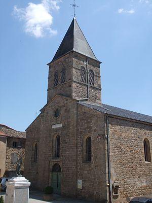 Arlebosc - Church of Saint Sacrement at Arlebosc