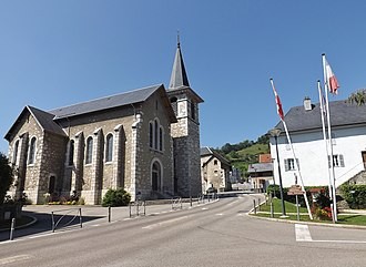 Bassens, Savoie - The church in Bassens