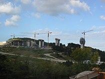 Črni Kal gradnja 2002.JPG