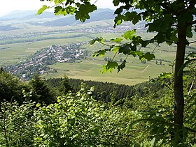Ďurciná from the hill.jpg