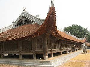 1736 in architecture - Đình Bảng communal house