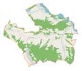 Łapsze Niżne (gmina) location map.png