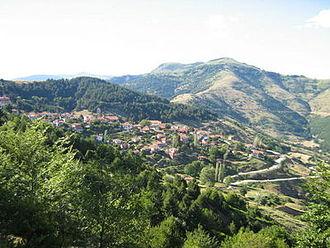 Battle of Kleisoura Pass - The village of Kleisoura