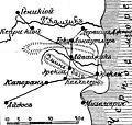 Карта к статье «Капоран». Военная энциклопедия Сытина (Санкт-Петербург, 1911-1915).jpg