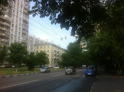 How to get to Кубанская Улица with public transit - About the place