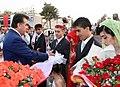Поздравление президента, Таджикистан.JPG