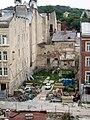 Руїни синагоги на вул. Староєврейській. Вигляд з вул. Федорова.jpg