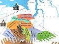 Система уральских княжеств на карте Сибирского ханства 16 век.jpg
