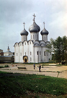 Church in Vologda, Russia