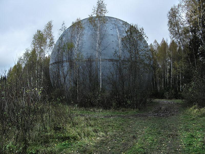 Заброшенные места СССР Шар под Дубной