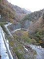 一ノ瀬林道入口のヘアピン - panoramio.jpg