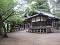 八坂神社、拝殿と本殿.jpg
