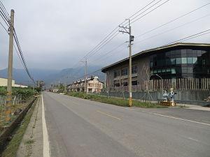 Namaxia District - Image: 台29線五里埔路段景觀
