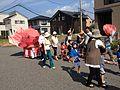 夏祭りの金魚台輪.JPG