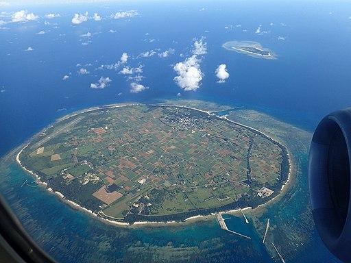 多良間島全景