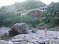 橋と大きな石 - panoramio.jpg