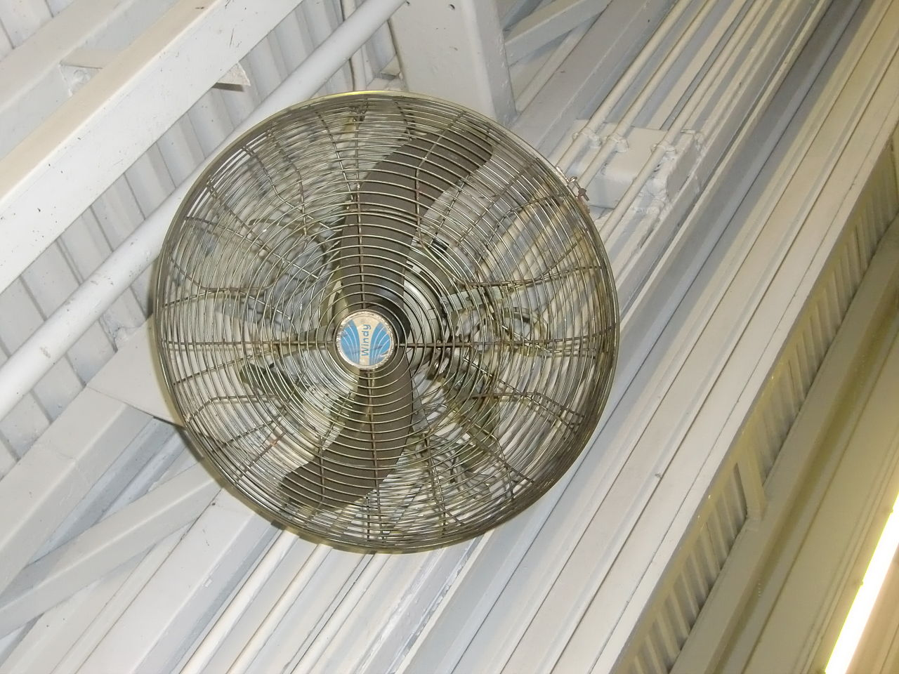 Types Of Industrial Fans : Bahrns industrial fans types and benefits