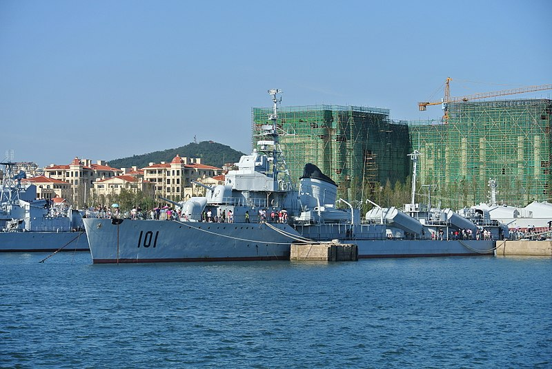 File:青岛中国海军博物馆鞍山号驱逐舰.jpg
