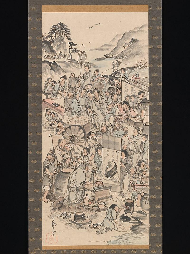 飲中八仙図-Drinking Festival of the Eight Immortals MET DP-12232-258.jpg