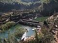 鸟瞰黄林村廊桥 - panoramio.jpg