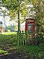 -2020-11-06 Red Telephone box, Hanworth Common, Hanworth, Norfolk.JPG