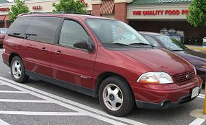 2001-2003 Ford Windstar photographed in USA. C...