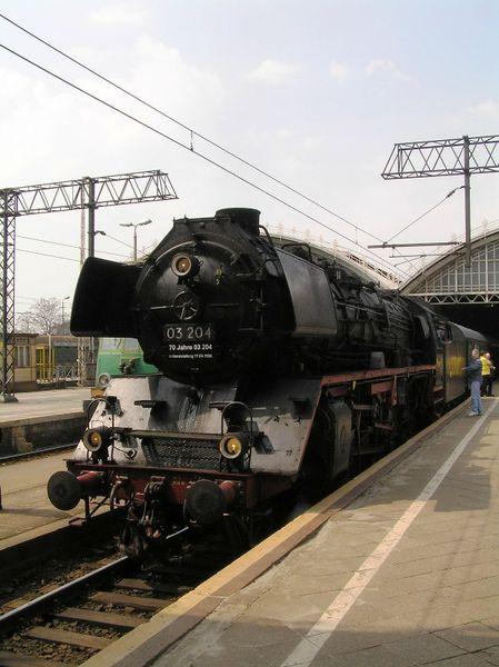 Dampflok BR 03 204