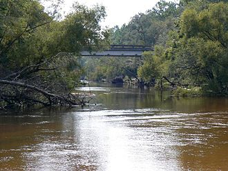 Ochlockonee River - Ochlockonee River at the Old Bainbridge Road Bridge