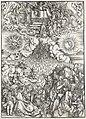 06. Albrecht Dürer, Apokalypsa, IV. Otevření páté a šesté pečeti, Národní galerie v Praze.jpg