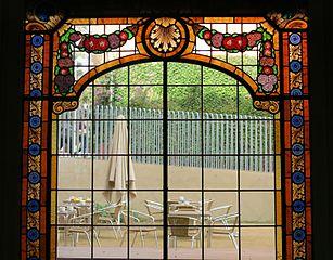 vitrall de la Casa Galve (Casa Orlandai)