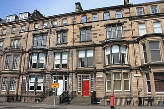 Charles Kinnear - 1,2 Rothesay Terrace, Edinburgh by Peddie and Kinnear