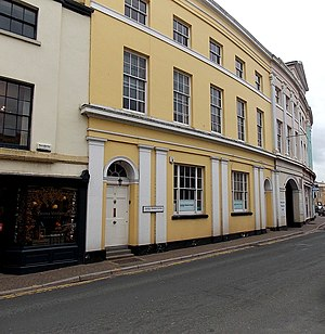 1–6 Priory Street, Monmouth - 1–6 Priory Street, from No.6