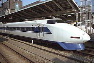 100 Series Shinkansen Japanese high-speed train type