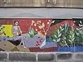 1030 Krummgasse 5 - Mosaik Flötenspielerin von Alfred Kornberger 1968 (1) IMG 8660.jpg